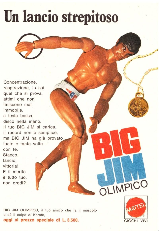 "PUBBLICITÀ ""BIG JIM OLIMPICO"" Image52"