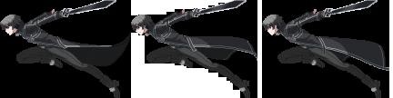 Battler Kirito SAO pour combat LMBS Kirito17