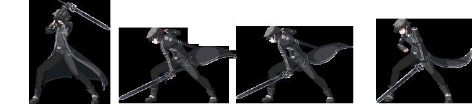 Battler Kirito SAO pour combat LMBS Kirito23