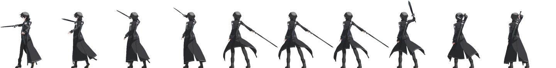 Battler Kirito SAO pour combat LMBS Kirito24
