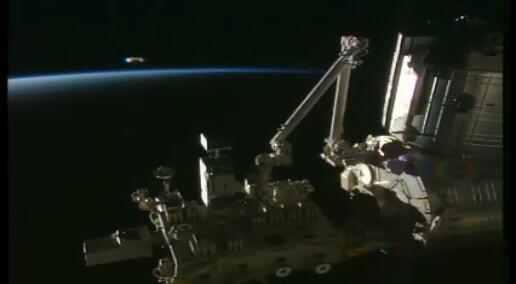 OVNI ISS on Live Issonl10