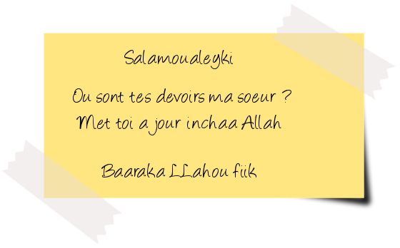 ludivine oum Inaya :: Les Histoires Des Prophètes (session 2) Ajour10