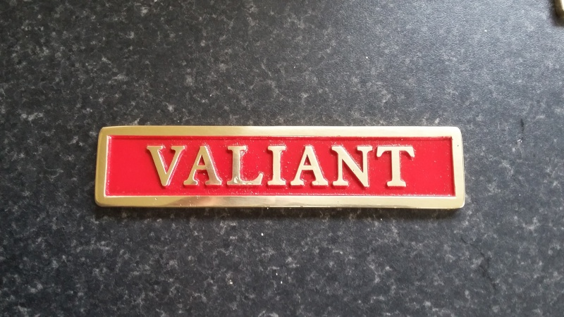 """VALIANT""  Starts to take shape 20160110"