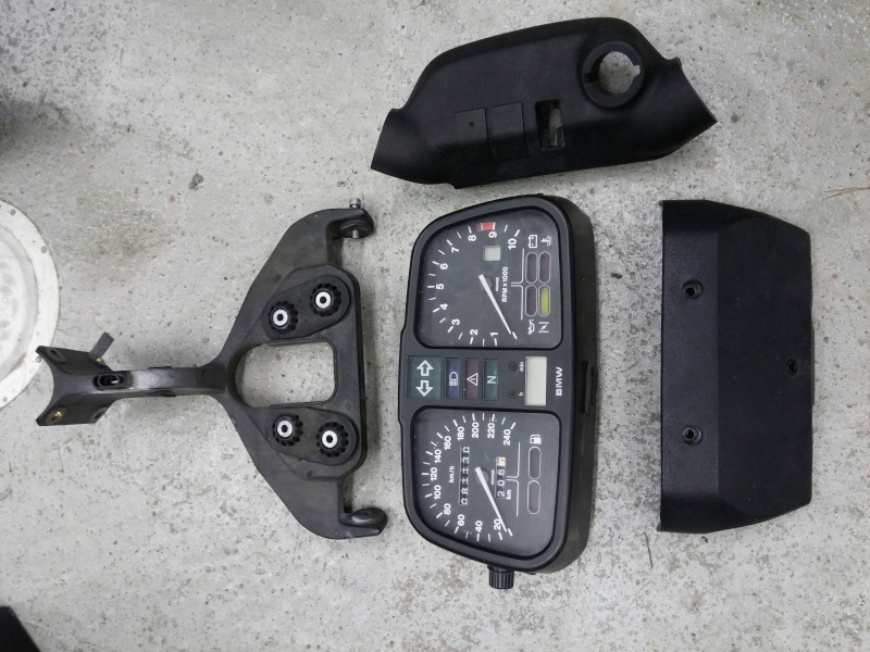 Entire Instrument cluster or just Speedometer - 1985 k100rs 20141110
