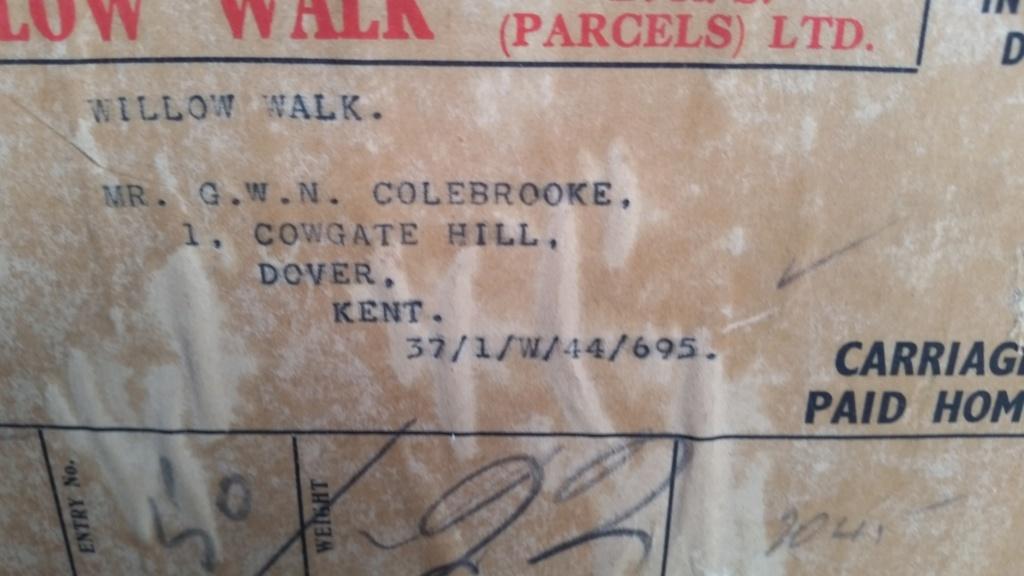 caisse de clops US WW2 et caisse à outils 1945 en acier zingué  20190519