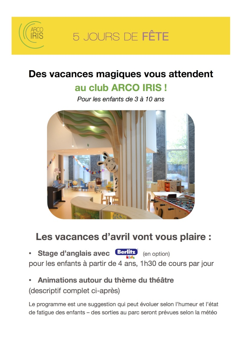 Club pour enfants Arco Iris - Page 2 Les_va19