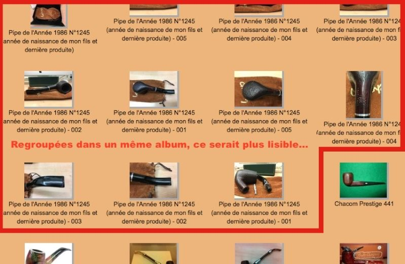 Les albums personnels Captur10