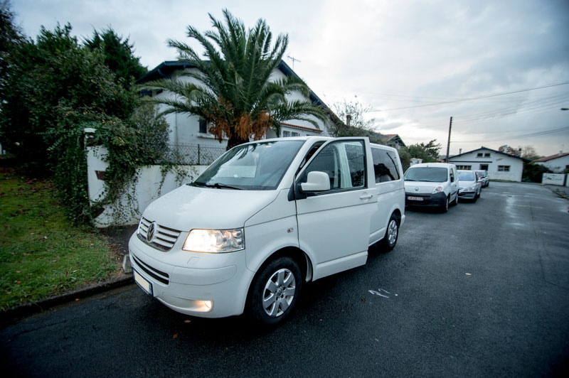 ★ Vends T5 Multivan Blanc StartLine 4Motion TDI 174CV de 2009 ★ 21010