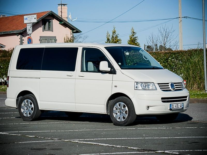 ★ Vends T5 Multivan Blanc StartLine 4Motion TDI 174CV de 2009 ★ Face10