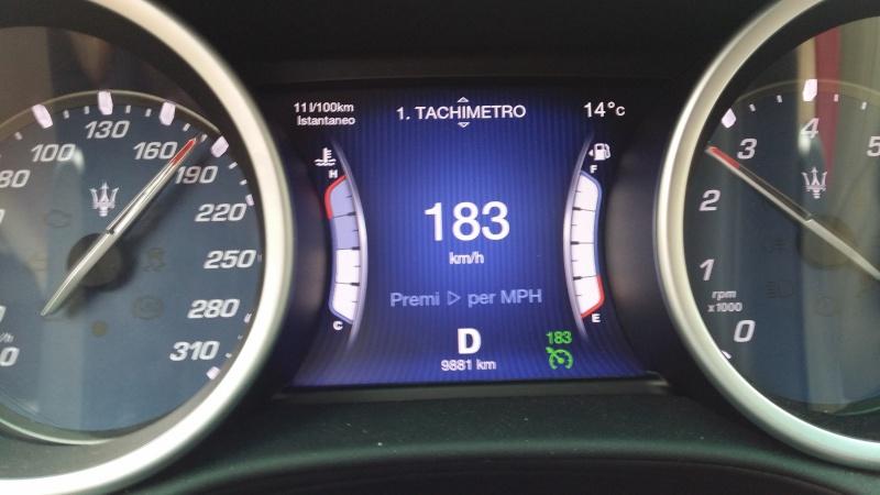 Ordinata Maserati Ghibli 330CV - Pagina 16 20160410