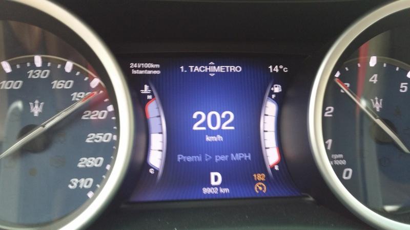 Ordinata Maserati Ghibli 330CV - Pagina 16 20160411