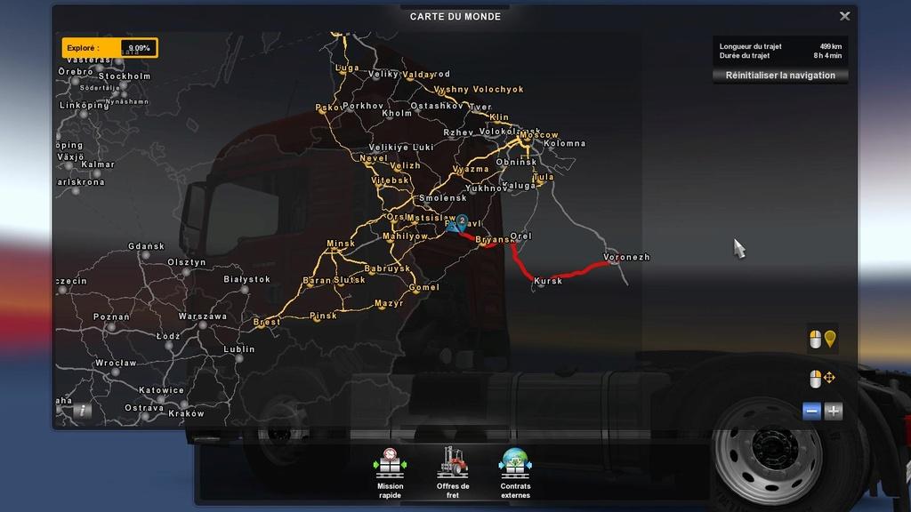 EUROTRANS Russie - Colaboration inter-transporteur. Eurot408