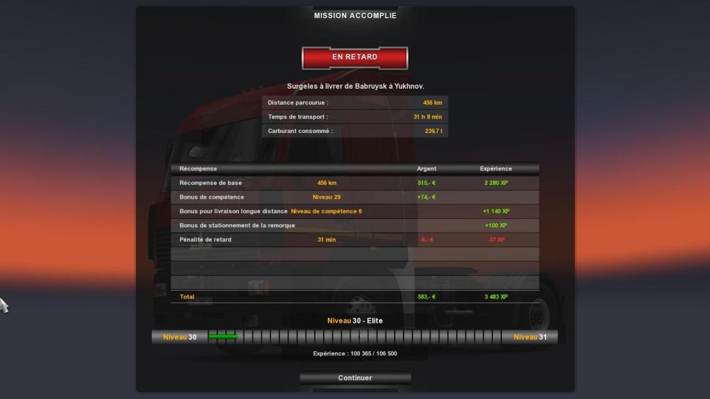 EUROTRANS Russie - Colaboration inter-transporteur. Eurot422