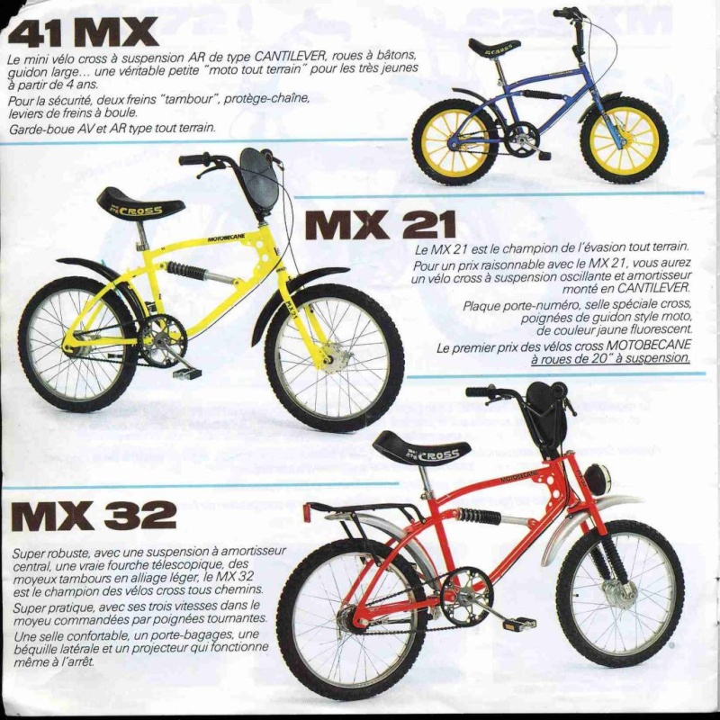 Motobecane MX41 Mbk83010