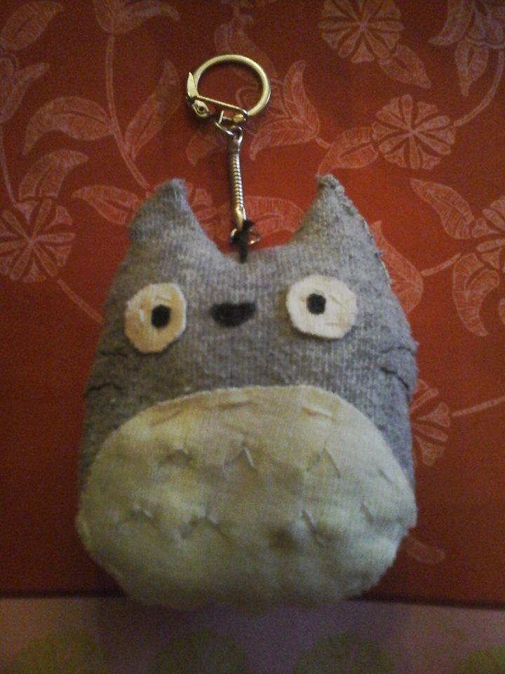 Porte-cle Totoro que j'ai créé ------60