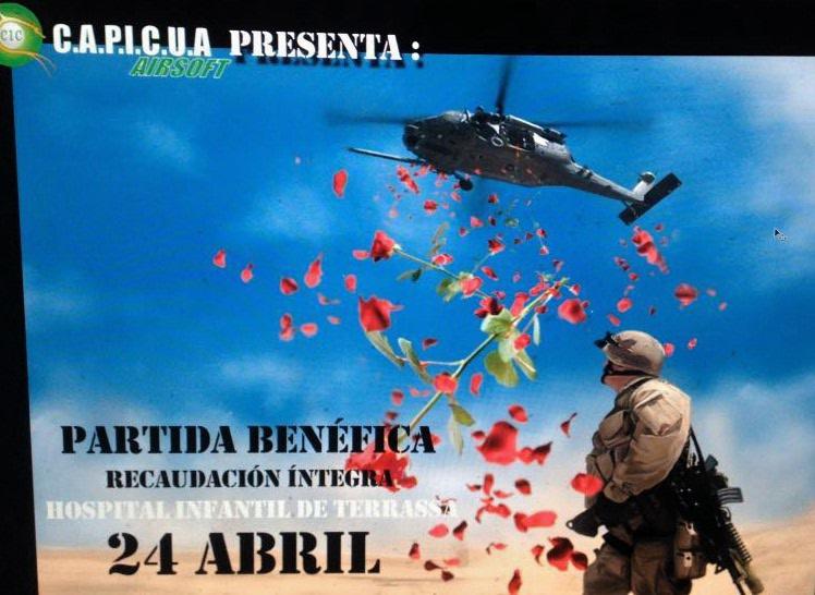 """Partida especial ABIERTA domingo 24 de Abril """"El Airsoft es cultura""""   Sant_j10"""