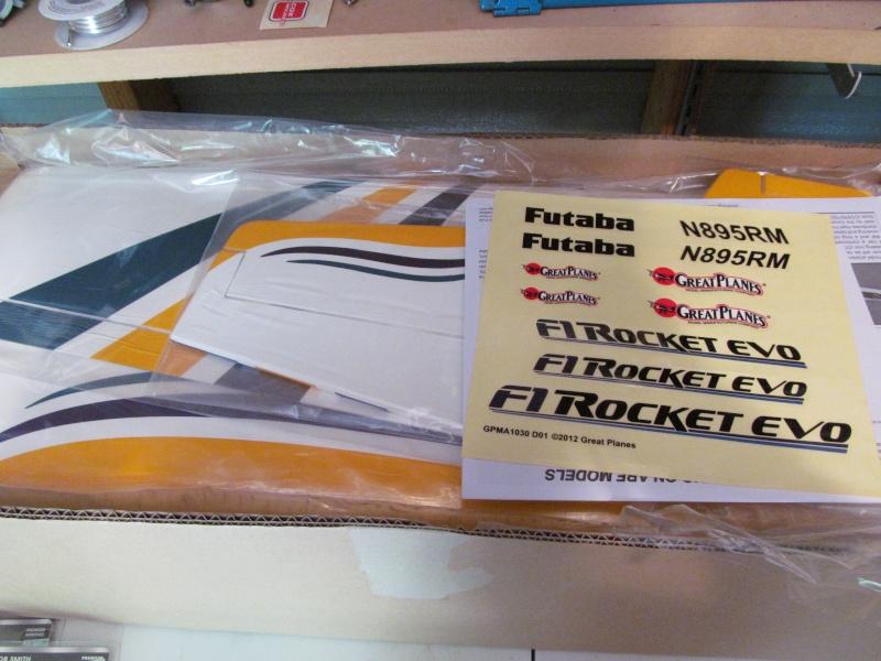 GP F1 Rocket Evo RC airplane build Img_1810