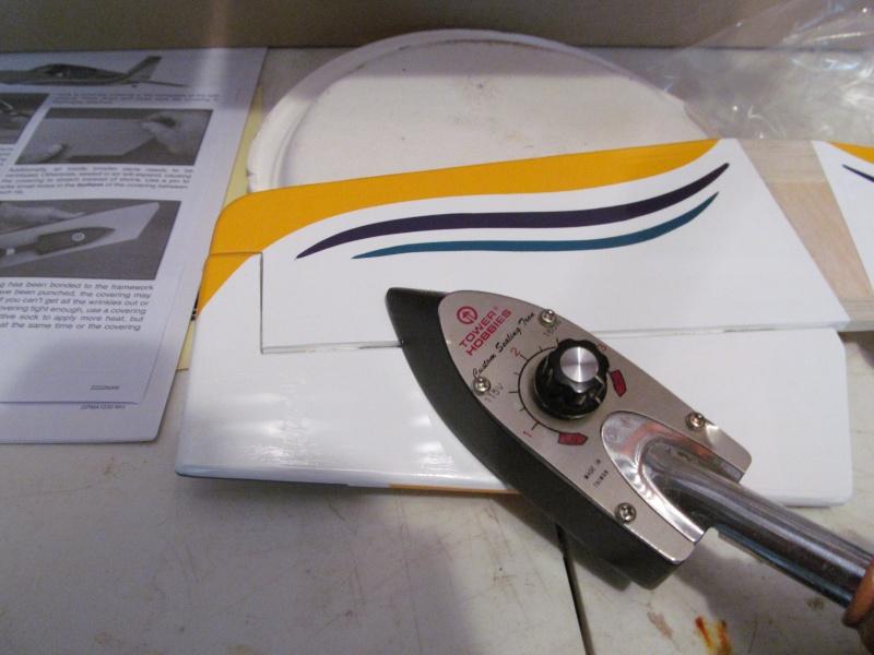 GP F1 Rocket Evo RC airplane build Img_1813