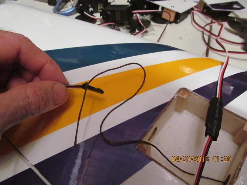 GP F1 Rocket Evo RC airplane build Img_1824