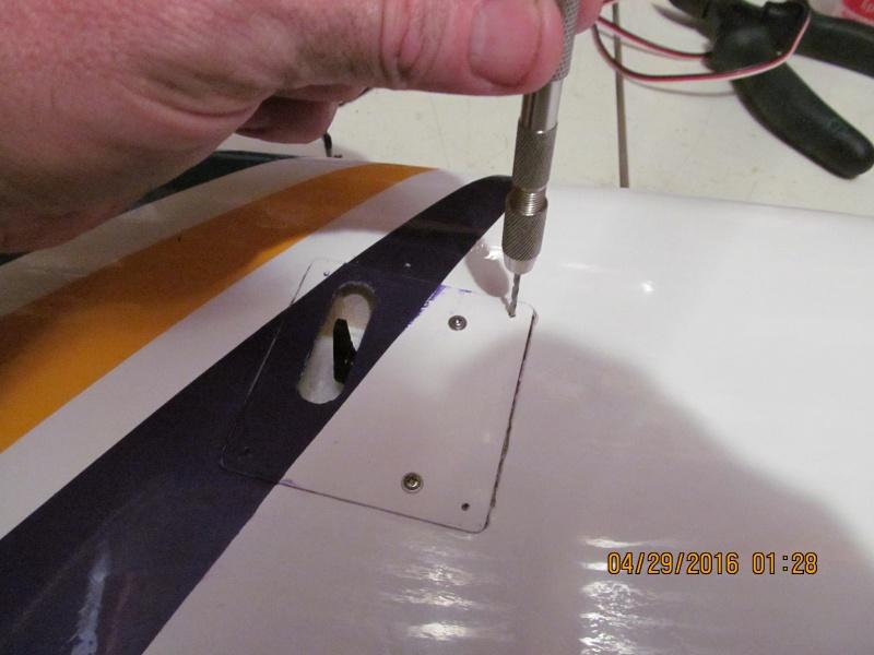 GP F1 Rocket Evo RC airplane build Img_1828