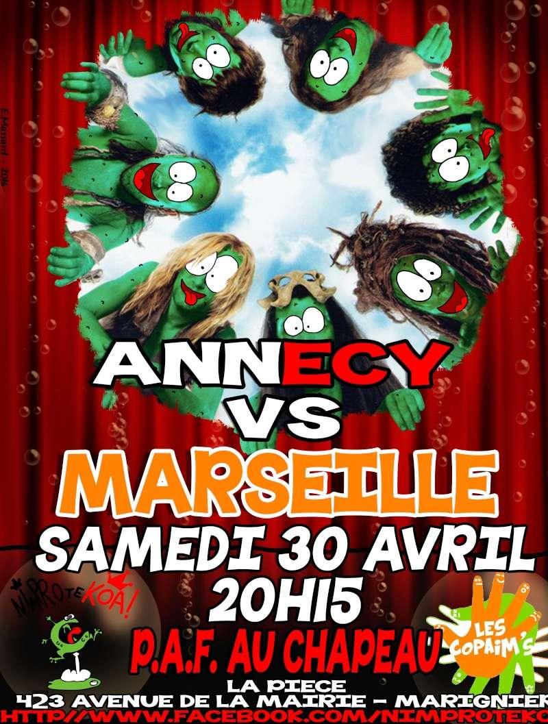 Match Nimprotekoas d'Annecy/les copains de Marseille Marignier 30/04/2016 Match_10