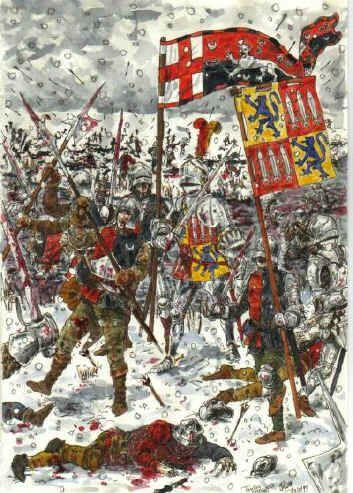Bataille de Towton: 29 mars 1461   5fe7bb10