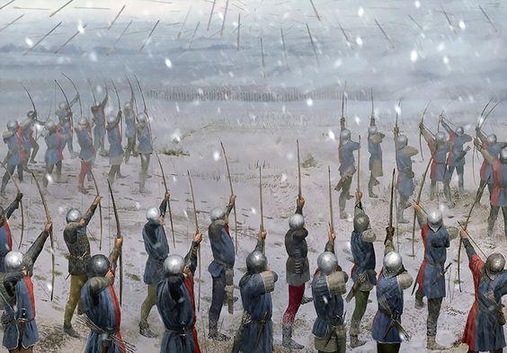Bataille de Towton: 29 mars 1461   9c8bde10