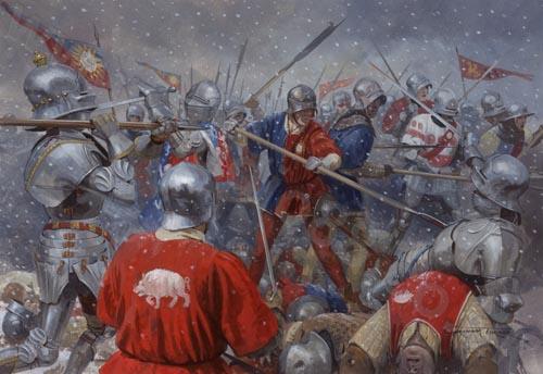 Bataille de Towton: 29 mars 1461   Big-1910