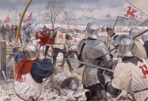 Bataille de Towton: 29 mars 1461   D0937810