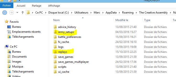 Retrouver les fichiers de jeux et captures d'écran Tut0510