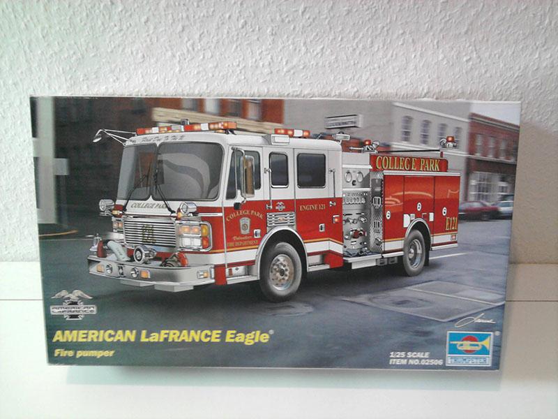 Trumpeter American LaFrance Eagle 1:25 01_10