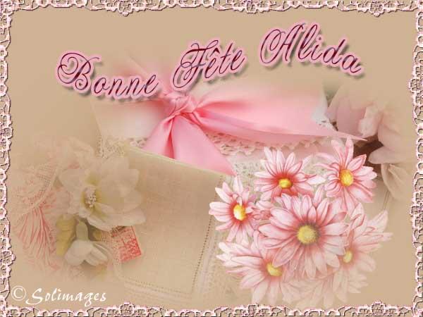 fête  à  souhaiter   - Page 37 Alida10