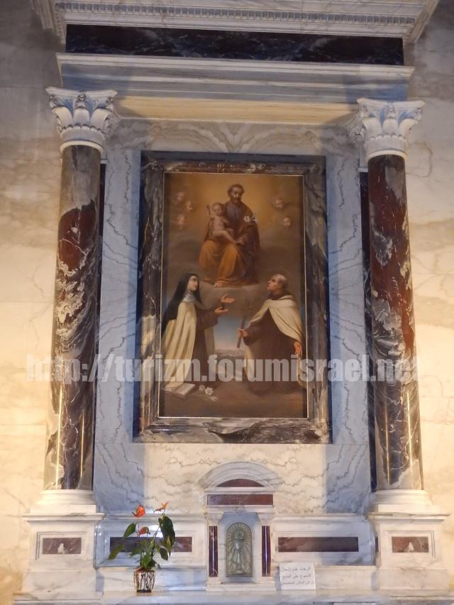 Монастырь кармелитов в Хайфе. Iyo_io12
