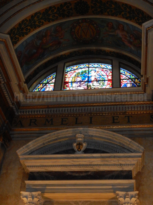 Монастырь кармелитов в Хайфе. Iyo_io16