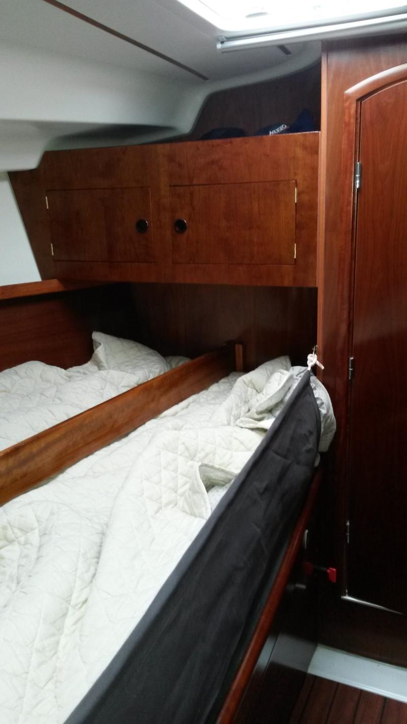 transformation lit cabine avant en couchette de mer 20160528