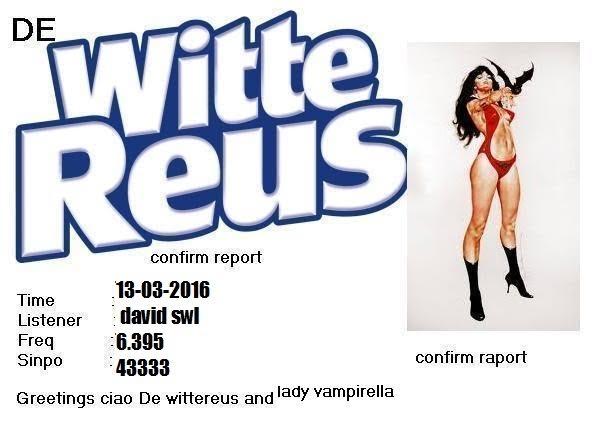 eQSL de Witte Reus 13-03-10