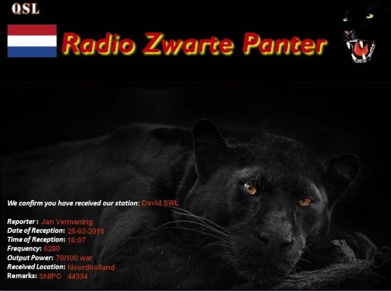 eQSL de R.Zwarte Panter  25-03-13