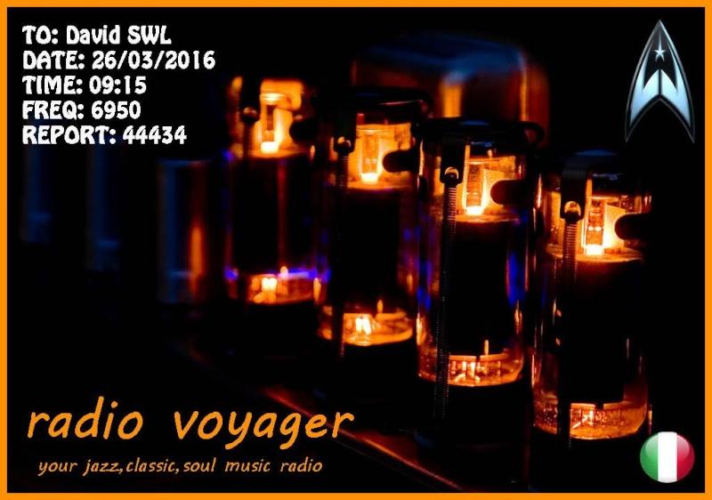 eQSL de radio Voyager 26-03-10