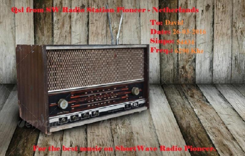eQSL de Radio Pioneer AM 26-03-11