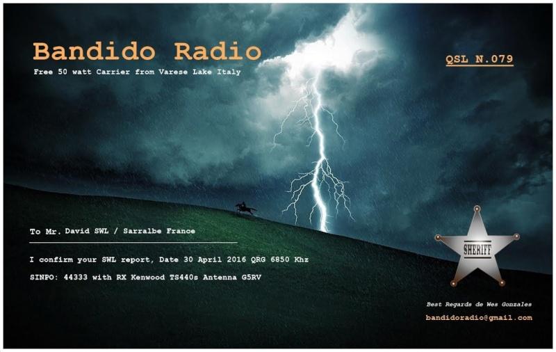 eQSL de Radio Bandido 30-02-10