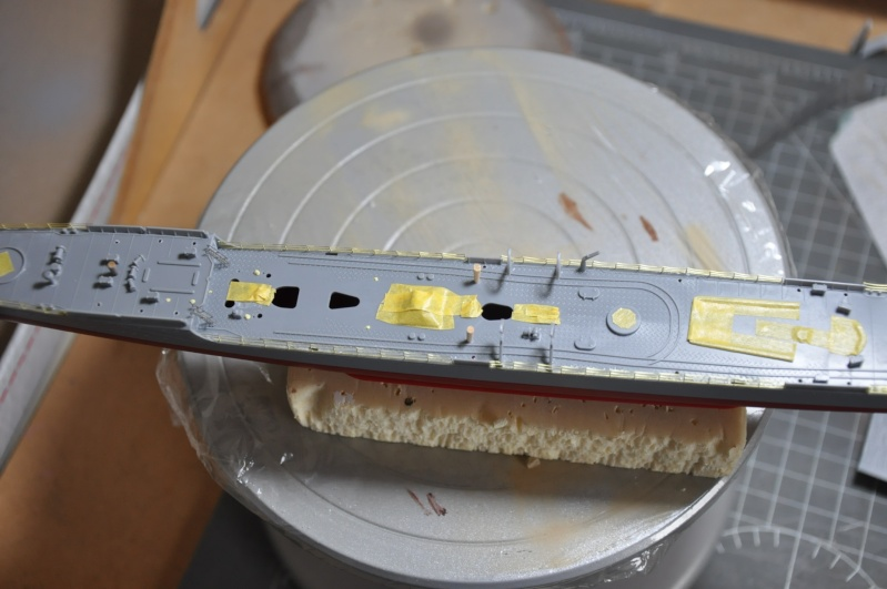 Destroyer Yukikaze Tamiya 1/350 + photodécoupe Aber. - Page 2 Dsc_0086