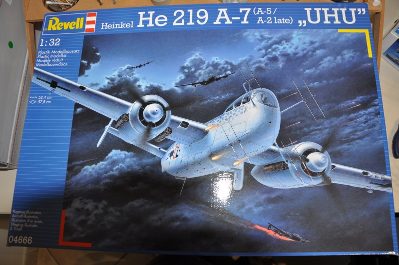 Heinkel He 219 A-7 UHU REVELL 1/32.  Dsc_0186