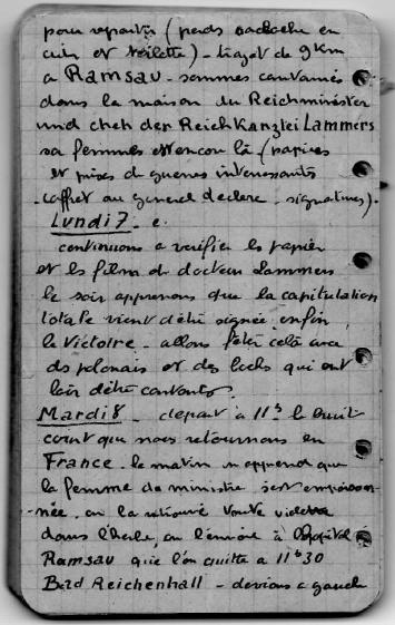 carnet de route j bégin 3 rmt 10 cie - Carnet de route de Jacques Bégin III/ RMT 10ème Cie - Page 4 Derniy10