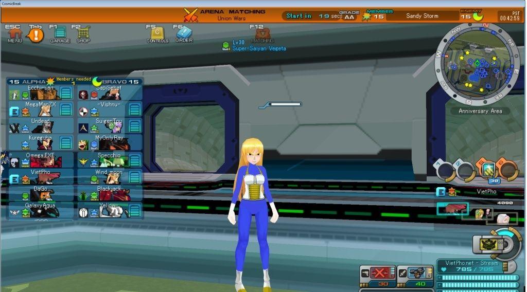Screenshots in general. Vegeta10