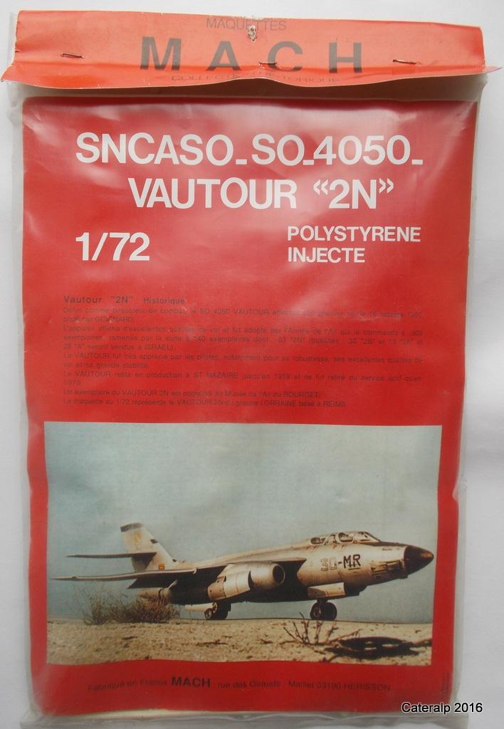 Un avion connu ,une marque de maquettes disparue ,MACH  Vautou10