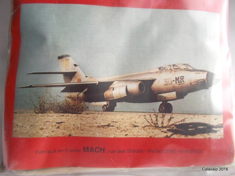 Un avion connu ,une marque de maquettes disparue ,MACH  Vautou17