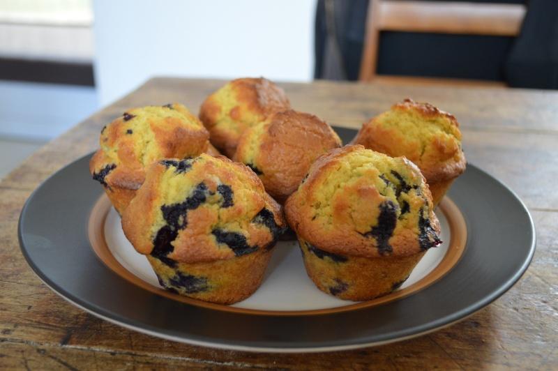 Muffins aux myrtilles Dsc_0312