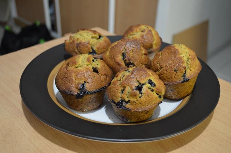 Muffins aux myrtilles Dsc_0313