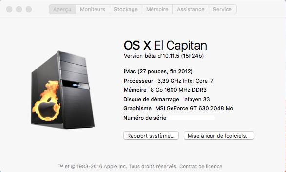 OS X 10.11.5 Beta  Build  15F24b A_prop10