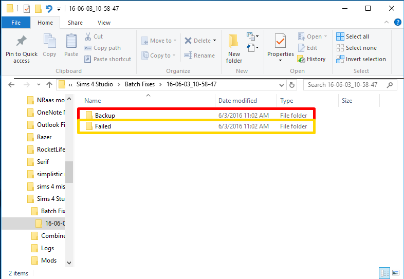 How to find backup folder for Sims 4 Studio Jackpot tool - Jackpot is now obsolete Captur13